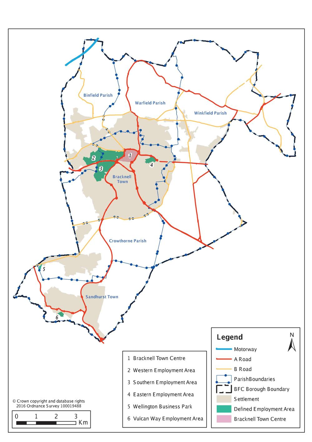 Bracknell Forest Council Comprehensive Local Plan Issues and